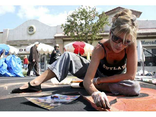 The annual Street Art Festival will be held Saturday and Sunday, Sept. 26-27 in downtown Newhall.