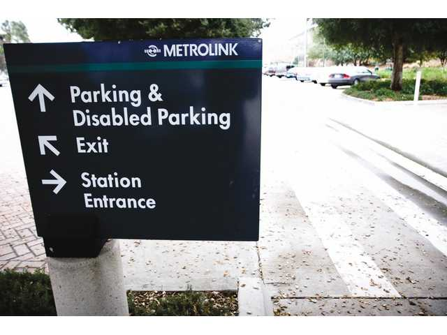 Numerous vehicles were broken into Wednesday evening at the Soledad Canyon Metrolink Station parking lot.