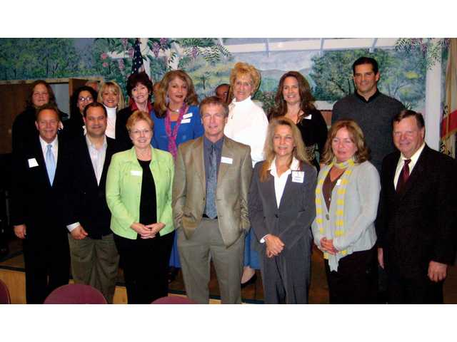 The 2009 Santa Clarita Valley Foundation board members.