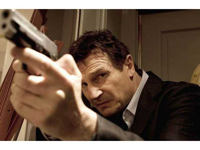 "Liam Neeson is shown in a scene from, ""Taken,"" which, at its best, is a Euro B-revenge thriller."