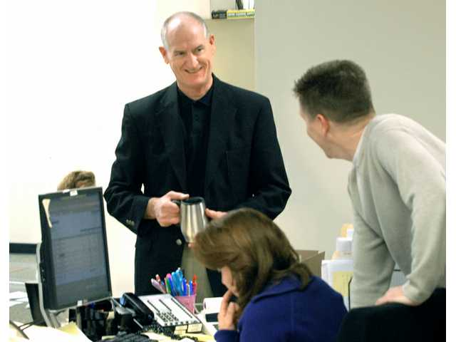 Chaplain brings life to workplace