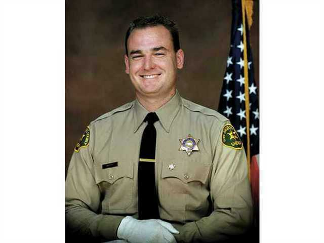 David March, pictured above, was shot and killed in 2002 by an illegal immigrant who immediately fled to his native Mexico. Santa Clarita City Councilman Bob Kellar had been a mentor to March.