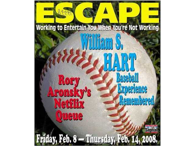 The Signal's Escape cover, Friday, Feb. 8-Thursday, Feb. 14, 2008.