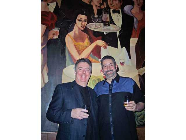 Guy Lelarge of Valencia Wine Co. and Verdecia joined forces to offer the wine dinner.