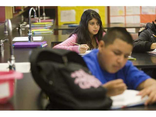 Castaic Middle School makes the grade