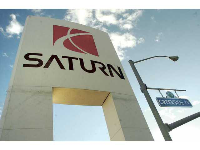 The Saturn dealership at Creekside Road and Valencia Boulevard sold its last new Saturn on Jan. 13 and has been operating as a used car lot since. The dealership's owners have not yet decided on the business' future.
