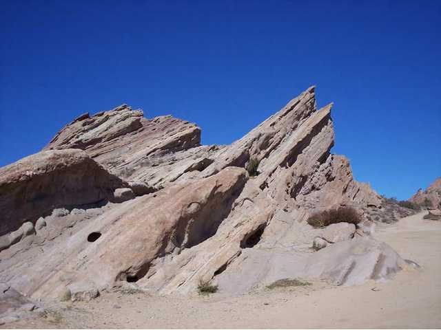 A hike at Vasquez Rocks Natural Area is a great outdoor activity.