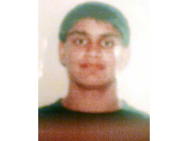 Valencia father Aziz Hajimohamed said his son, Ali, 14, pictured, went missing Thursday evening. He returned home Sunday morning.