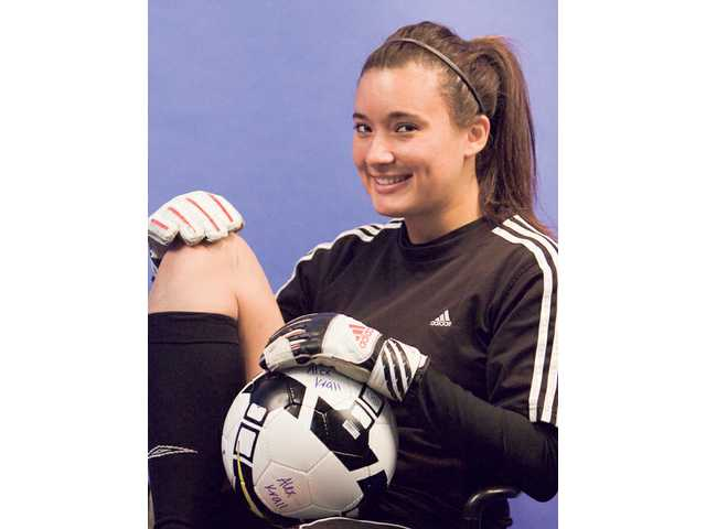 Canyon junior goalkeeper Alex Krall had to conquer fear in order to ensure her team's success.