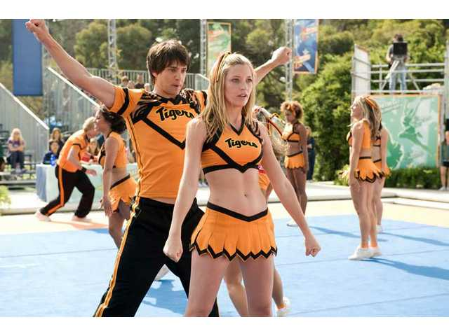 """Sarah Roemer and Nicholas D'Agosto, left, in a scene from the Screen Gems comedy """"Fired Up."""""""