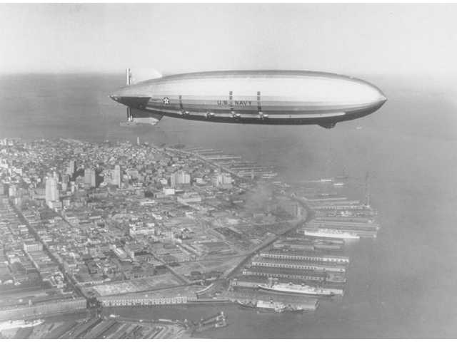 The USS Macon was the largest airship in the U.S. Navy and the last of its kind. The site in Monterey Bay where the Macon sank in 1935 was placed into the National Register of Historic Places last week.