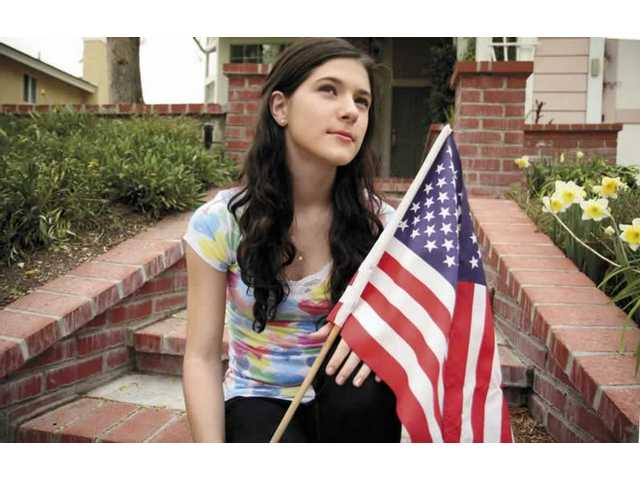 Santa Clarita officials selected Saugus High School sophomore Sara Niemietz to sing the national anthem at the beginning of Sunday's Amgen race. Tour of California events begin today in Santa Clarita.