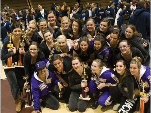 The Valencia High School dance team opened the 2010 competition season with seven first-place finishes at Claremont High School on Feb. 6.