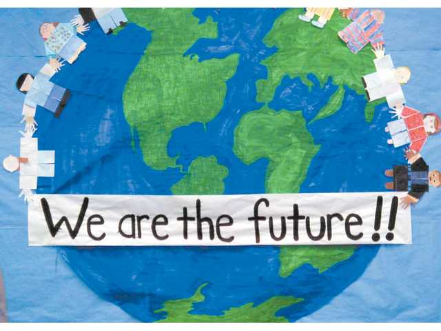 """""""We Are the Future!"""" was the title of the original program presented Friday night by students at Rio Vista Elementary School in Canyon Country."""