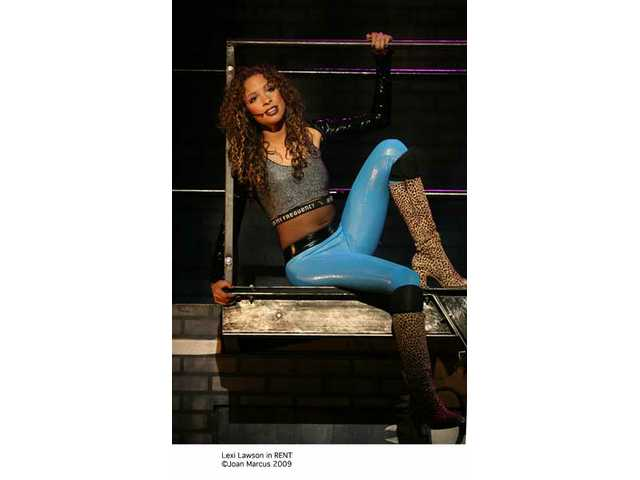 "Lexi Lawson in ""Rent."""