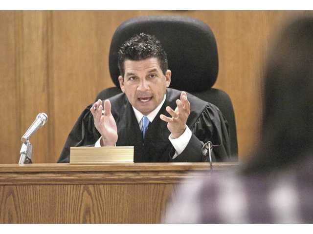 Teen court defendants in that