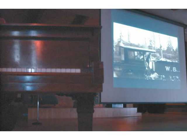 "With Mitchell's music heightening the drama, the overflow crowd enjoys the classic Buster Keaton silent film, ""The General."""