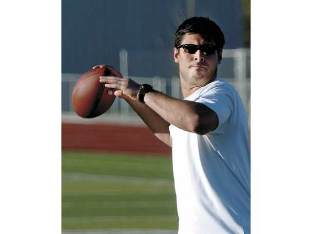 Hart High graduate Matt Moore is coming off a rookie season with the Carolina Panthers in which he started three games and earned NFL Offensive Player of the Month honors in December.