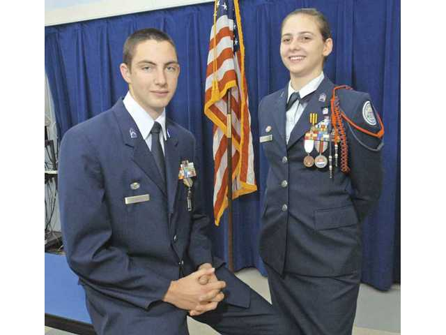 Two students head to Air Force