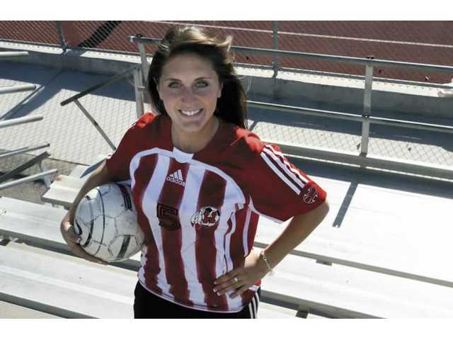 Hart's Sarina Coutin is The Signal's All-SCV Girls Soccer Player of the Year.