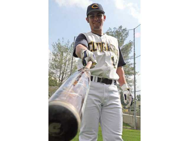 College of the Canyons first baseman Hugo Hernandez spent the offseason with the St. Cloud River Bats of the Northwoods League, a collegiate summer league where he says he faced great pitching that helped him improve as a hitter.