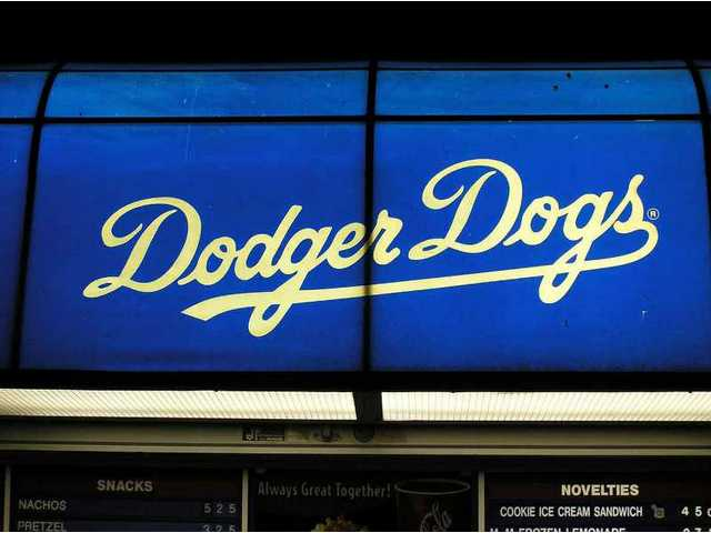 One of the biggest attractions of a visit to Dodger Stadium is chowing down on a Dodger Dog...or three.