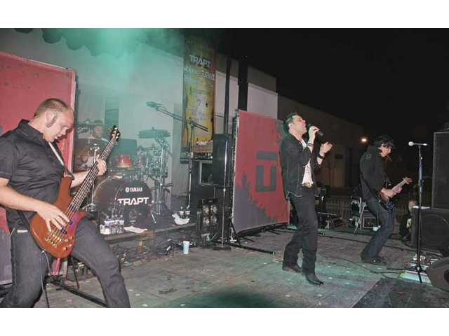 Million-selling modern rockers Trapt headlined Yes I Can's Summer Meltdown concert in May 2008.