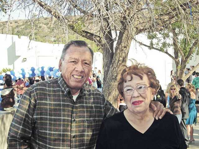 Robert and Gloria Salazar have been married 62 years.
