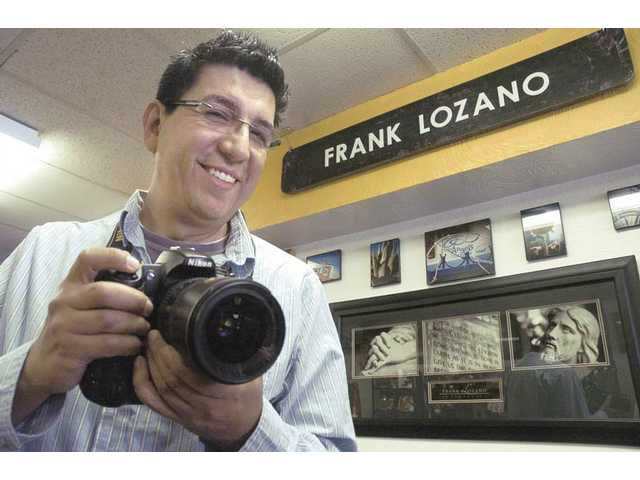 Frank Lozano's fine arts photography is on display at OutWest on Main Street in downtown Newhall through the end of March.