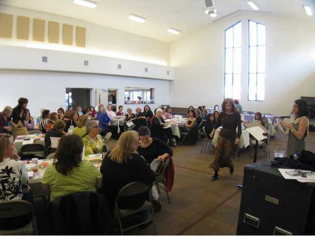Eighty women came together at the Seventh Day Adventist Church in Newhall last Saturday to observe the Passover in a special ritual that provides a venue for women's voices to be heard and their experiences commemorated.