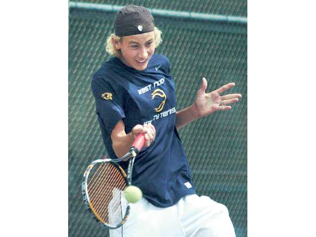 West Ranch's Baron Von Kessler could compete for the Foothill League singles championship.