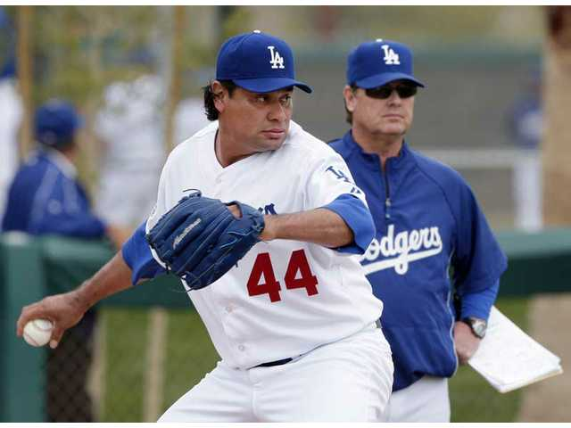 Padilla to get opening day start for Dodgers