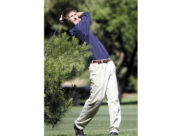 Valencia Country Club Foothill League boys golf match.