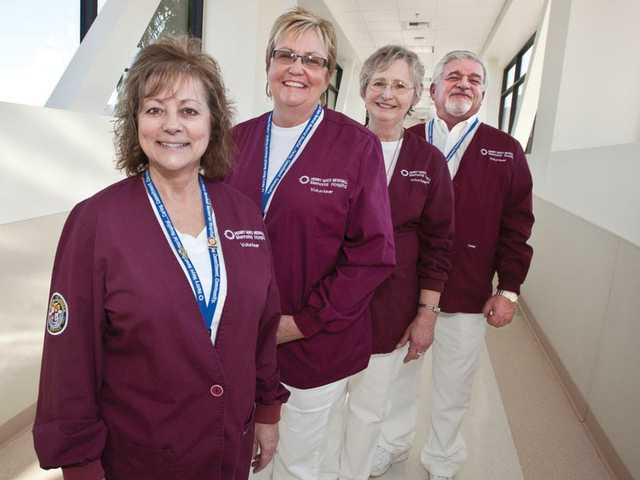 Patient relations volunteers offer comfort