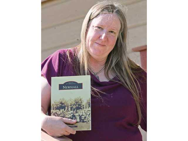 "Perkins' book ""Newhall"" is available throughout the SCV."