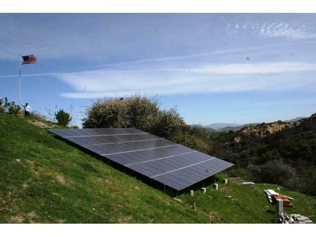 Solar panels view 3.
