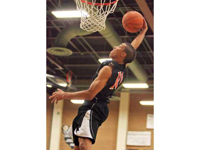 Santa Clarita Christian's Davion Cotterell was named an All-CIF-Southern Section selection in Division VI-AA.