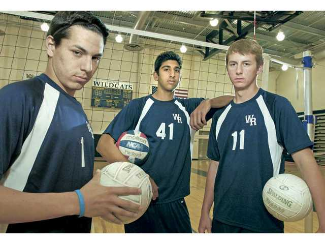 From left to right: West Ranch's Frankie Madero, Kulwinder Singh and Jeff Zepp could give the Wildcats the boost they need to move to the top of the Foothill League standings. The trio of left-handed seniors are a unique commodity and a reason the West Ranch faithful might have high expectations this season.
