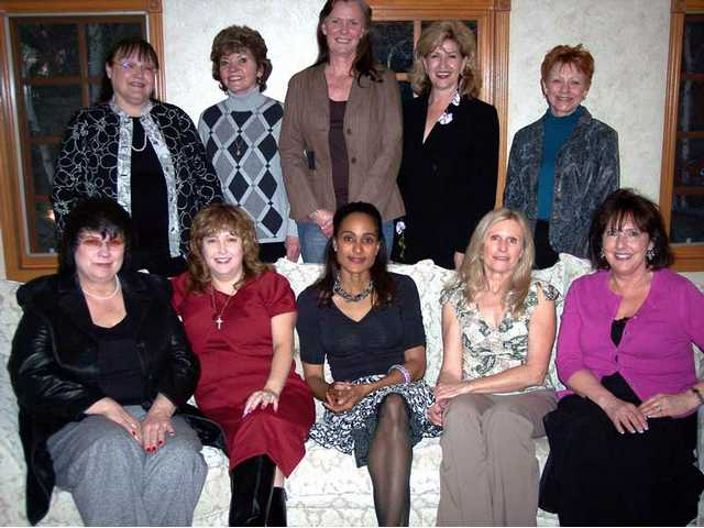 Top row, left to right, nominees for 2009 SCV Woman of the Year: Nancy Coulter, Mary Ann Colf, Donna Schmidt, Marlee Lauffer and Gigi Bost. Seated, left to right: Stephanie Weiss, Jane Bettencourt-Soto, Janice Murray, Jorja Harris and Julie Sturgeon. Not pictured: Peggy Edwards, Janice Hoskinson and Dora Zavala. The 2009 SCV Man and Woman of the Year will be announced May 8 at a banquet held at the Hyatt Valencia. Tickets are $75 each and proceeds benefit nonprofits in the SCV.