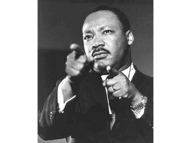 The Rev. Dr. Martin Luther King is seen in this undated file photo.