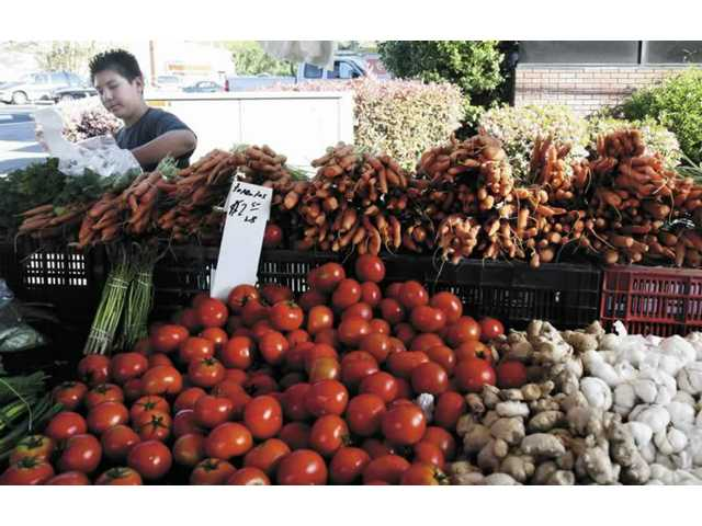 Market opens year in new location