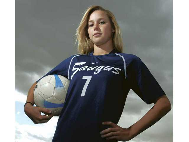 Saugus High School senior Erin Ortega led the Centurions to the CIF-Southern Section Division II championship. She is the 2008-09 All-SCV Girls Soccer Player of the Year.
