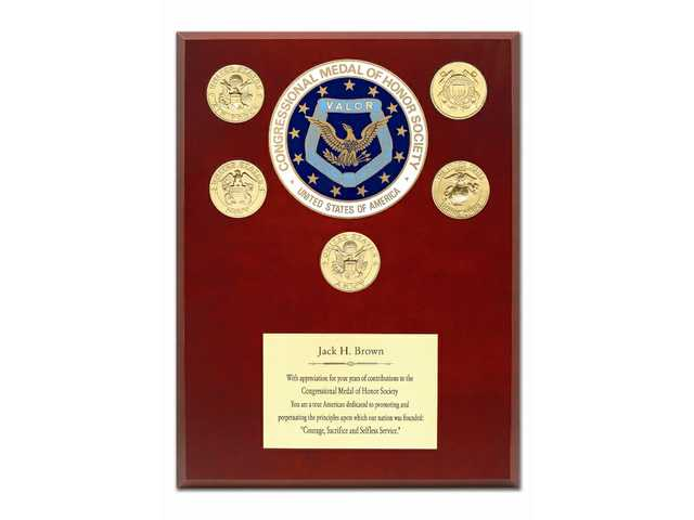 Stater Bros. Markets Chairman and CEO Jack H. Brown received the Congressional Medal of Honor Society Award on March 1.