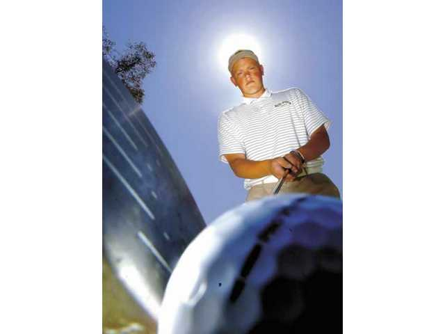 J.J. Holen, 15, of West Ranch High School, has become one of the Foothill League's rising golf stars. Each week he competes among the best the league has to offer.