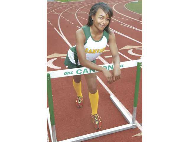 Canyon freshman Taylor Thomas hasn't missed a step switching from sprinting to hurdles. Her talent is drawing comparisons to professional athletes and could take her to the next level.