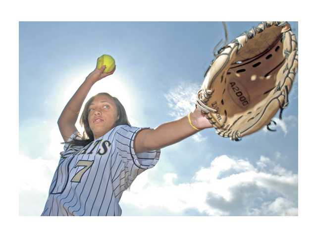 West Ranch pitcher Shayna Medoff brings a silent but confident leadership to the Wildcats that could help them challenge the Foothill League elite this season. Excelling in her studies as well as in the circle, Medoff keeps everything in perspective and can be a difficult read for opponents on the field.