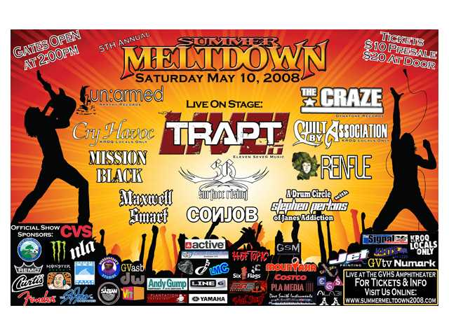 The fifth annual Summer Meltdown concert will be staged by the Hart District's Yes I Can students on Saturday, May 10, at Golden Valley High School's outdoor amphitheater.