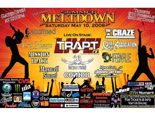 The fifth Summer Meltdown rocks Golden Valley High's outdoor amphitheater Saturday, May 10.