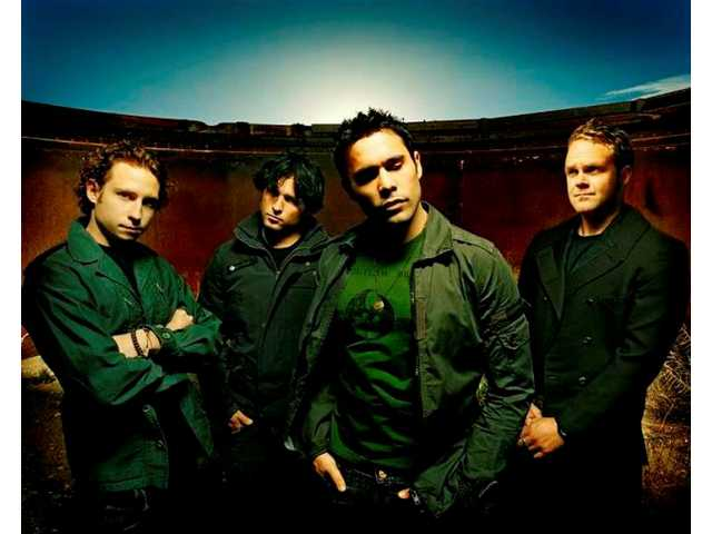 """Trapt is the 2008 Summer Meltdown headliner. The band's next album, """"Only Through the Pain,"""" is due in August on the Eleven Seven label.From left: Simon Ormandy (guitar), Aaron """"Monty"""" Montgomery (drums), Chris Taylor Brown (vocals), Pete Charell (bass). At Meltdown, Robb Torres will be sitting in for Ormandy."""