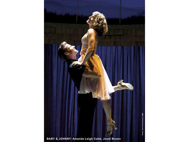"Amanda Leigh Cobb and Josef Brown in ""Dirty Dancing"" opening at the Pantages Theatre in Hollywood."
